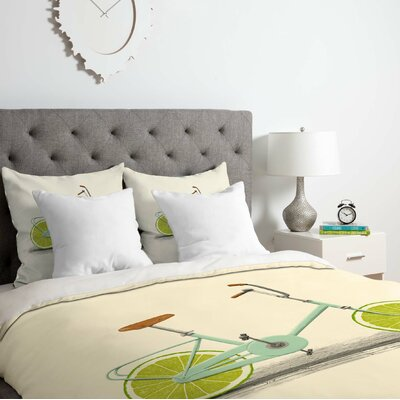 Acid Duvet Cover Set Size: Queen