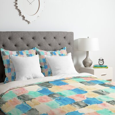 Light Rain Duvet Cover Set Size: Twin/Twin XL