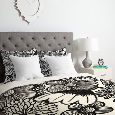 Dash and Ash Into the Wildwood Duvet Cover Set Size: Queen