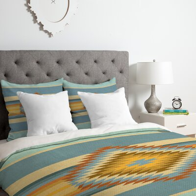 Fiesta Duvet Cover Set Size: King, Color: Vintage