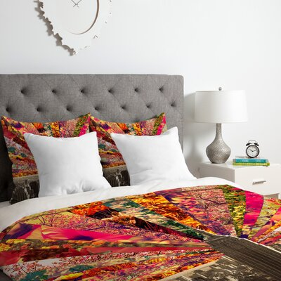 Blooming NYC Duvet Cover Set Size: Queen