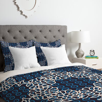 Zoe Wodarz Evening Duvet Cover Set Size: Queen