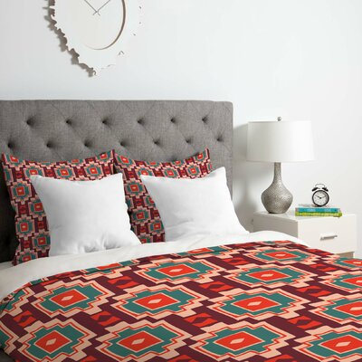 Sunbaked Southwest Duvet Cover Set Size: Queen