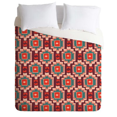 Sunbaked Southwest Duvet Cover Size: King