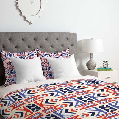 Firecracker Southwest Duvet Cover Set Size: King