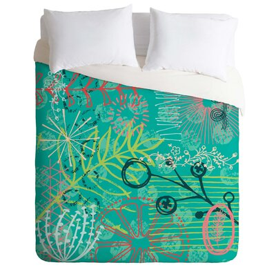Summer Burst Duvet Cover Set Size: Twin/Twin XL