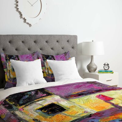 Fine Art Coco Duvet Cover Set Size: King