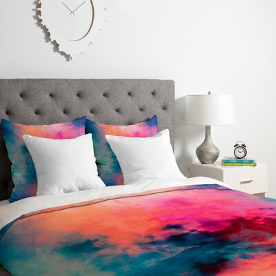 Temperature Duvet Cover Set Size: Queen
