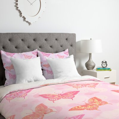 Signs of Summer Duvet Cover Set Size: King