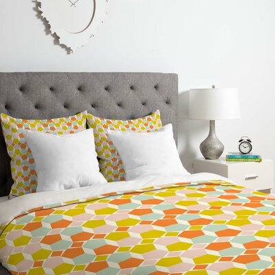 Twiggs Bring Summer Back Duvet Cover Set Size: Queen
