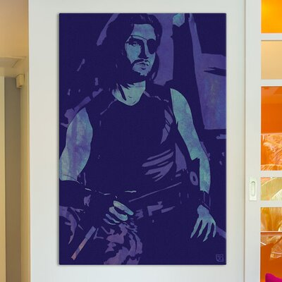 Escape From New York Snake Plissken  Graphic Art on Wrapped Canvas ESRB3008 34360613