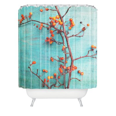 She Hung Her Dreams on Branches Shower Curtain