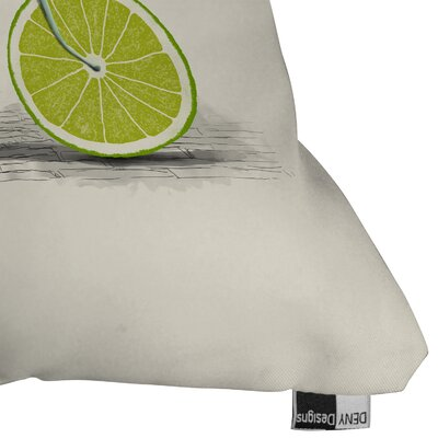 Florent Bodart Acid Throw Pillow Size: 16 H x 16 W x 4 D