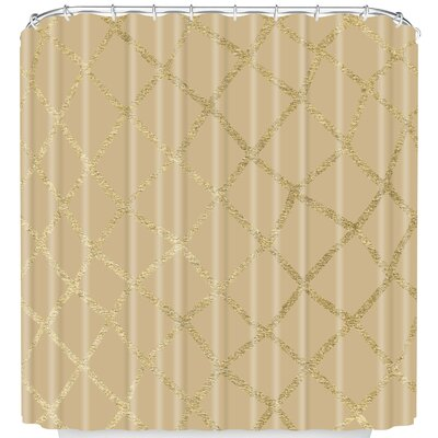 Shower Curtain Color: Cream