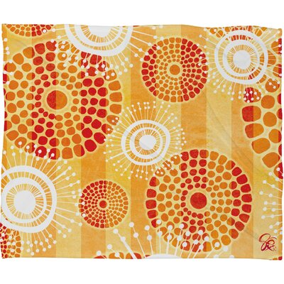 Design Festive Batik Throw Blanket