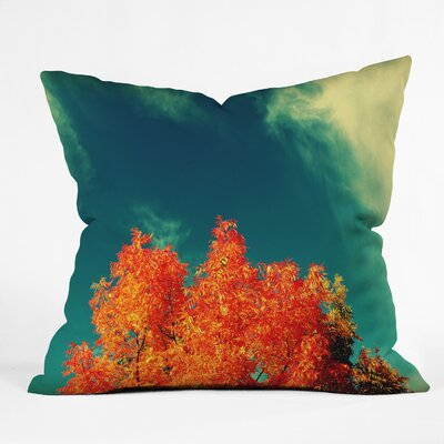 Perfect Fall Throw Pillow Size: 16 H x 16 W x 4 D