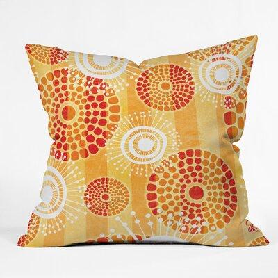 Gina Rivas Design Festive Batik Throw Pillow Size: 16 H x 16 W x 4 D