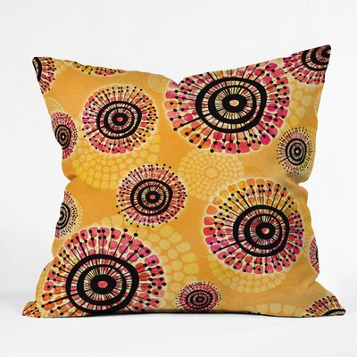 Gina Rivas Design Calipso Burst Throw Pillow Size: 16 H x 16 W x 4 D