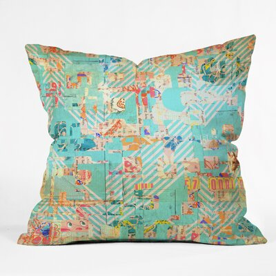 MIK 42 Throw Pillow Size: Large