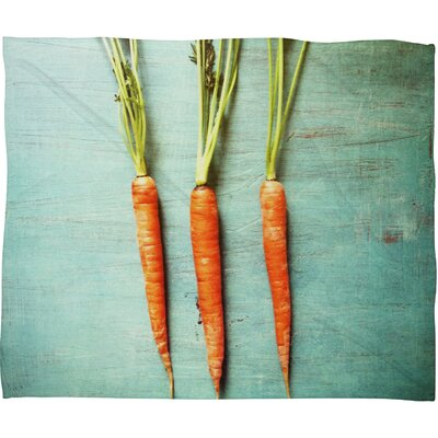 Olivia St Claire Eat Your Vegetables Throw Blanket