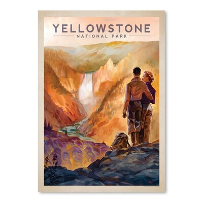 Yellowstone National Park Vintage Advertisement ESRB4341 34370881