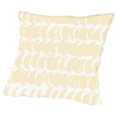 Posey Half-moon Throw Pillow Size: 14 H x 14 W x 2 D