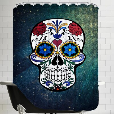 Trendy and Stylish Skull Horror Shower Curtain