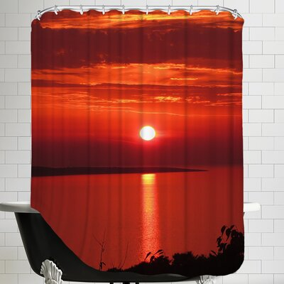 Sunset Sunrise Holiday Shower Curtain