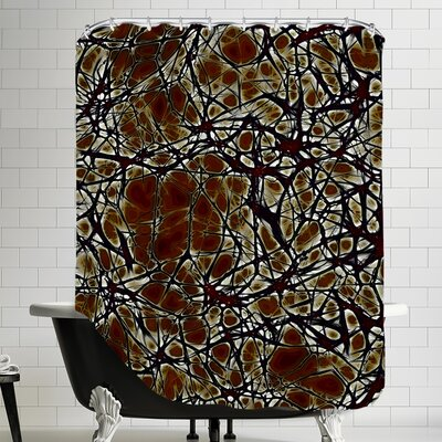 Cell Nerve Shower Curtain