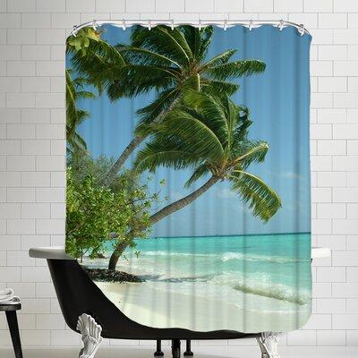 Maldives Beach Shower Curtain