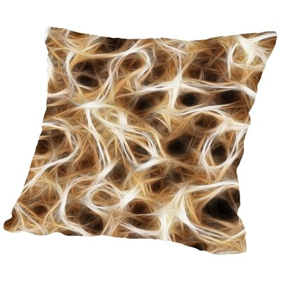 Neurons Healthy Nerve Throw Pillow Size: 14 H x 14 W x 2 D