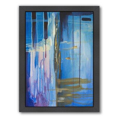 "Desert Rain Framed Painting Print Size: 15"" H x 12"" W x 1"" D ESRB5661 34382869"
