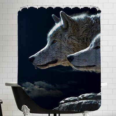Animal Wolf Wolves Shower Curtain