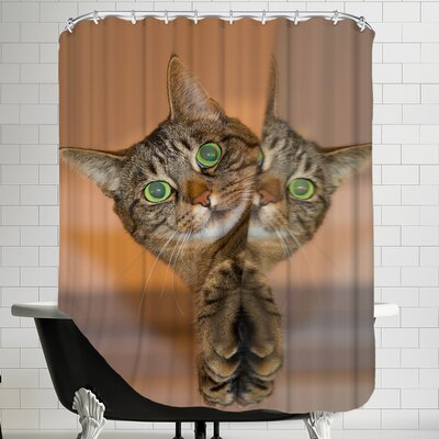 Cute And Sweet Cat Shower Curtain