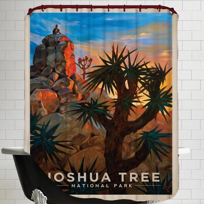 Joshuatree Shower Curtain