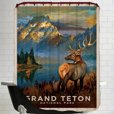 Grandteton Shower Curtain