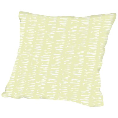 Gnarly Stumps Specks Throw Pillow Size: 16 H x 16 W x 2 D
