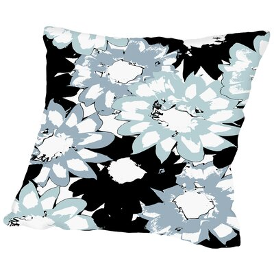 Gazania Silhouette Throw Pillow Size: 20 H x 20 W x 2 D