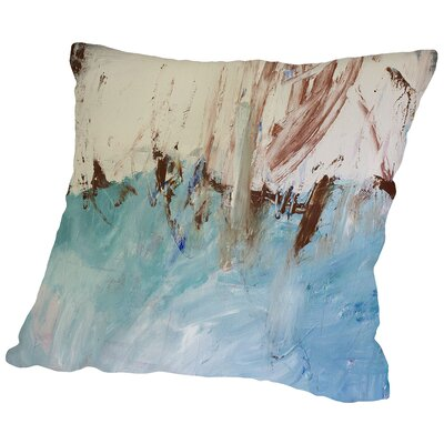 River Flows Through Throw Pillow Size: 20 H x 20 W x 2 D
