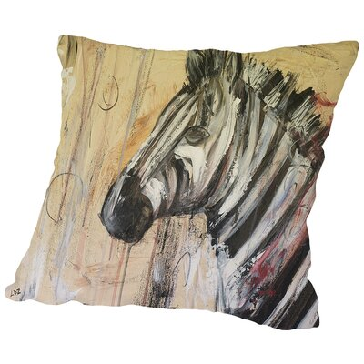 The Ponderer Throw Pillow Size: 18 H x 18 W x 2 D