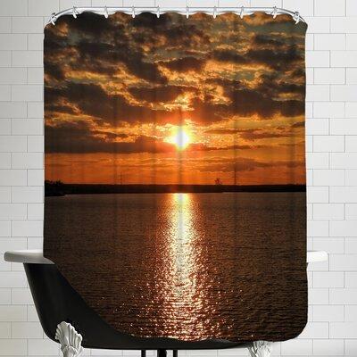 Sunset Sunrise Holiday Shower Curtain