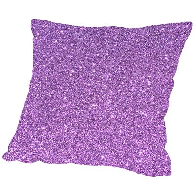Luxury Shiny Polyester Throw Pillow Size: 20 H x 20 W x 2 D