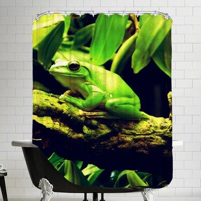 Wildlife Frog Animal Shower Curtain