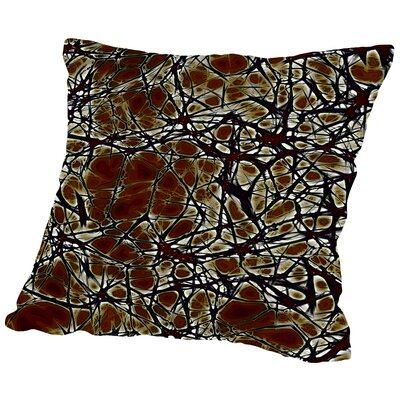 Medical System Cell Nerve Throw Pillow Size: 16 H x 16 W x 2 D
