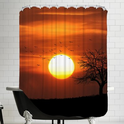 Holiday Sunset Shower Curtain