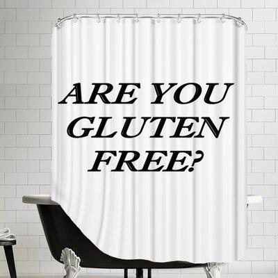 Gluten Free Healthy Food Shower Curtain