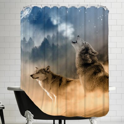 Wolf Wolves Animal Shower Curtain