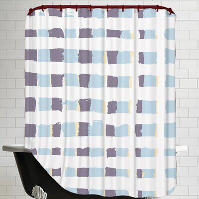 Posey Plaid Shower Curtain