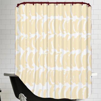 Posey Half-moon Shower Curtain