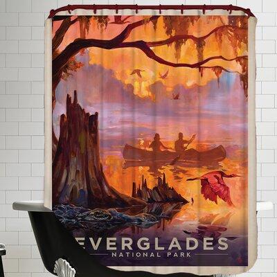 Everglades Shower Curtain